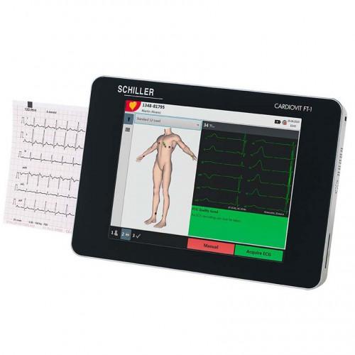 ECG Schiller Cardiovit FT-1 avec le Wi-Fi