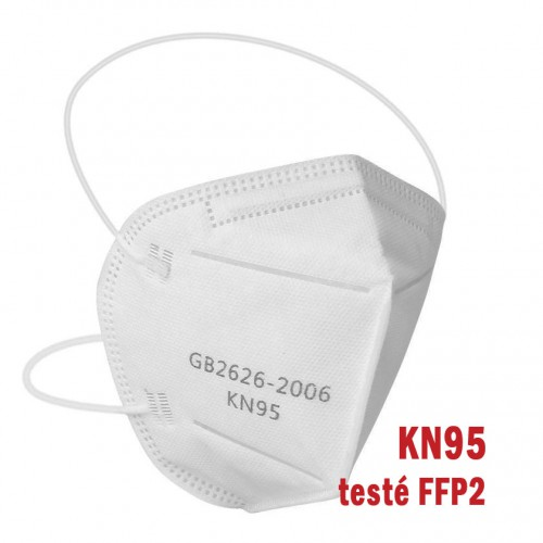 Masques protection KN95 testé FFP2