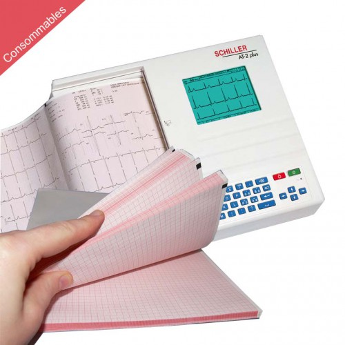 Papier pour ECG Cardiovit AT-2, AT-2 plus et CS-200