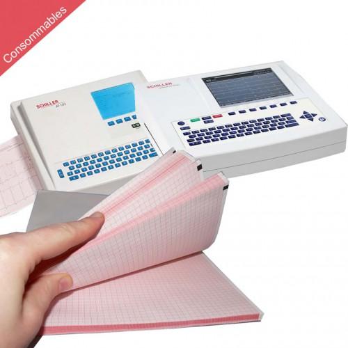 Papier pour ECG Schiller Cardiovit AT-102 et AT-102 plus