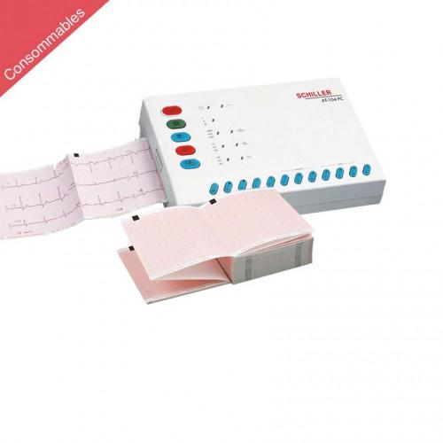 Papier pour ECG Schiller Cardiovit AT-4 et AT-104 PC