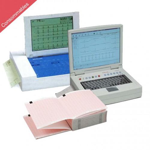 Papier pour ECG Schiller Cardiovit AT-10 et AT-110