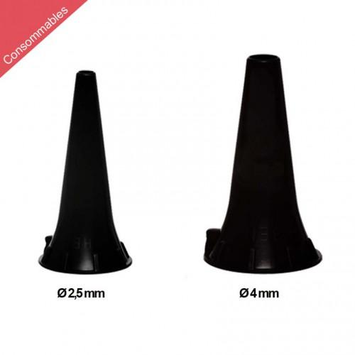 Spéculum pour Otoscopes BETA 400, BETA 200, K180, mini3000 F.O. et mini3000 Heine