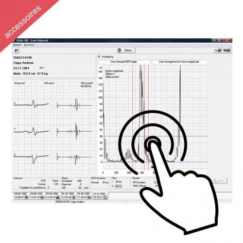 Logiciel option interprétation pour ECG Cardiovit Schiller MS