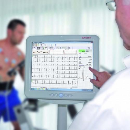 ECG Schiller Cardiovit AT-104 ergospirométrie