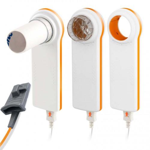 Spiromètre MIR Minispir New avec le capteur d'Oxymétrie
