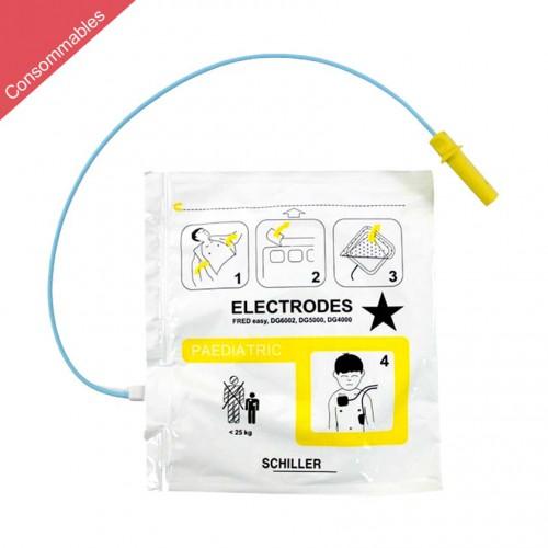 Électrodes Adult pour FRED Easy, FRED Easy Life, DG6002, DG5000, DG4000 - Adult