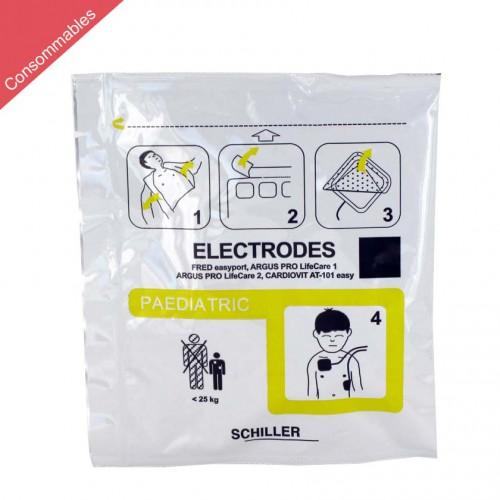 Électrodes adults pour FRED Easy, DG6002, DG5000, DG4000