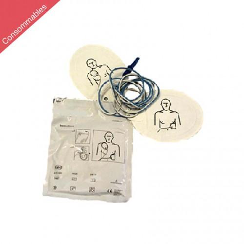 Électrodes préconnecté pour FRED PA-1