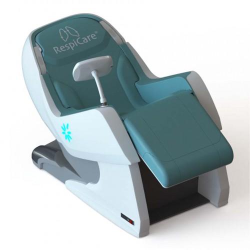 RespiCare fauteuil de Spiropraxy pour les exercices ventilatoires