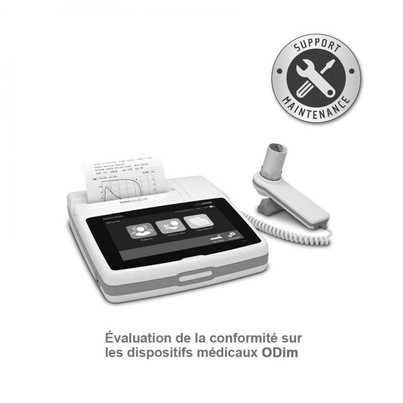 ODim contrôle technique Spiromètres